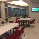 iclub Wan Chai  - 5th floor lounge area