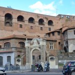 A portion of the ancient Roman Aurelian Wall