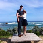 Lovely couple on one of our private winery tours to the Mornington Peninsula.