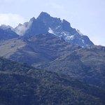 Pico Bolivar visto desde el hotel