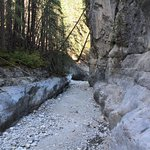 Grotto Canyon. Dry creek bed.