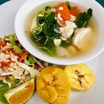 Healthy Light Lunch at Daku Resort