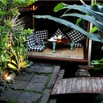 Nowhere else you can find a more tranquilized and romantic setting with our cabana/bale