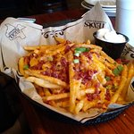 Loaded fries.