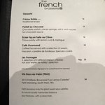 The French Brasserie - Desserts