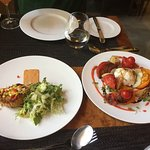 Crab Cakes and an Heirloom Salad