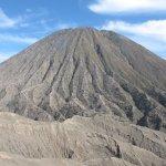 Close view of Mount Batok