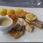 plancha des poissons