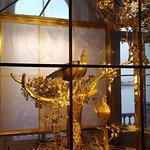 L'horloge du paon une des merveilles de l'Ermitage