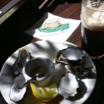 Oysters and stout - magic!