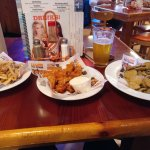 Food ordered at Hooters