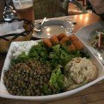 healthy and yummy salad