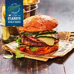 O'Learys Specials - The Tiki Taka Burger, September 1-October 31 The burger of the month is pack