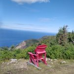 "Taking in the view on the Red Chair. Find out about the ""Red Chair"" Challenge..."