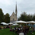 Musikgruppe Oberinn am 18.09. 2016 direkt vor dem Hotel Ansitz