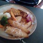 Blackened Swordfish with Creole sauce