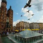 loved Krakow the Square is amazing and so close to Barbican