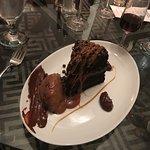 Chocolate Mudslide Cake w/Mocha Mousse, Sea Salt Caramel & Mocha Gelato