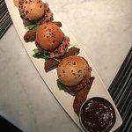 Dragonfly - Siu Mai Burger Bites with Jicama Fries