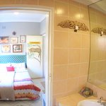 Leopard Double Suite View from Bathroom