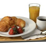 Continental Breakfast for $6.00, including tax