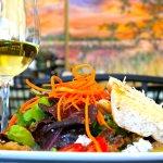 Daniel Island Salad paired with a California Chardonnay