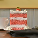 Our famous Strawberry Cake
