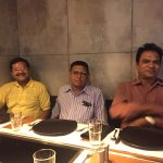 On dinning table