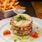 Marinated Salmon Sandwich