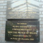 A visit from Charles' plaque