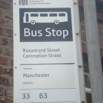 Probably the most famous bus stop in the UK