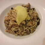 chicken risotto with mushrooms