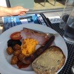 Cornish breakfast