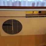 La climatisation (pièce d'antiquité !)