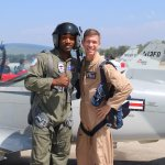Me and Mike!! Best pilot to fly with anyday!!!