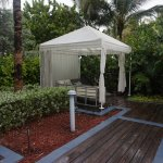 One of the cabanas at adult pool avail by reservation