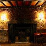 Elizabethan fireplace