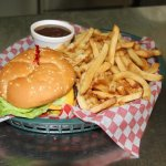 Chummy's Burger and fresh cut fries