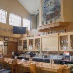JJ Hills Fresh Grill, at Icicle Village Resort bar