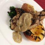 Grilled Smoked Pork Chop