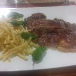 steak and chips about 10 euro