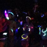 Glow dance party