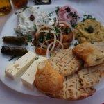 One of the Mezze platters at Restaurant Creta.