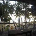 Premier balcony view and beach