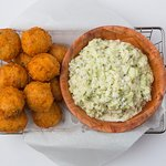 Our Famous Bottomless Hushpuppies & Coleslaw