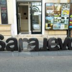 Starting point of Sarajevo free walking tour