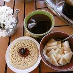 Petit déjeuner au Riad