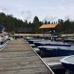 Quick stop at Redfish Lake Lodge on our Idaho trip