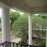 balcony where Jefferson Davis gave his speech
