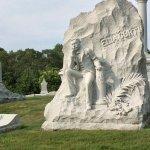 Memorial of one of the granite cravers